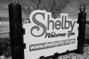 Shelby, Ohio Sign
