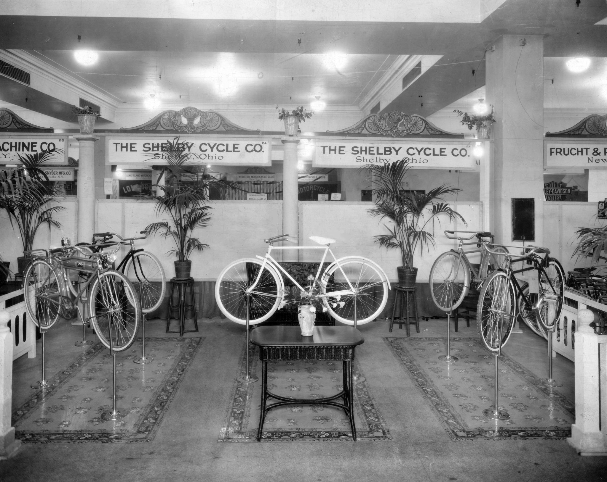 Shelby Cycle Co Sales Display